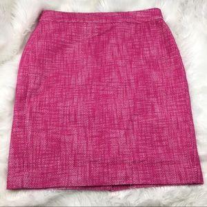 Banana Republic Factory | Pink Tweed Skirt 4
